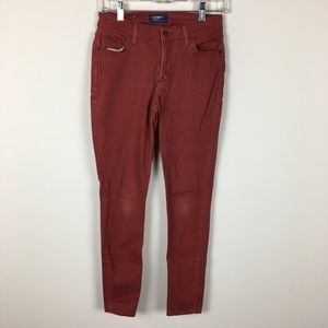 Old Navy Colored Skinny Jeans Rockstar Denim 4